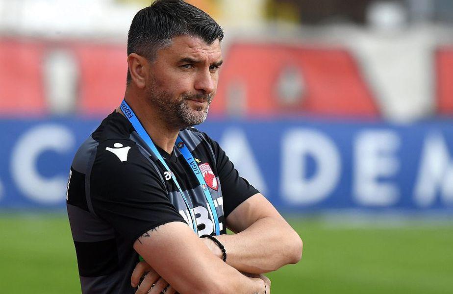 4 eșecuri, o remiză și o victorie în Liga 1, plus 2 înfrângeri în semifinalele Cupei, cu FCSB, a strâns Adrian Mihalcea pe banca lui Dinamo