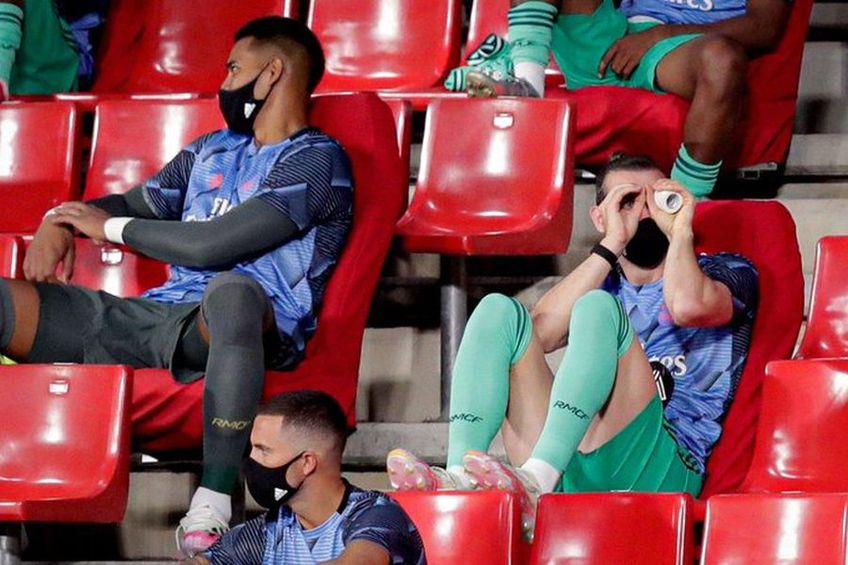 "Bale s-a uitat la Granada - Real Madrid 1-2 prin ""binoclu"