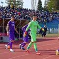 FC Argeș - CS Mioveni, partida din play-off-ul ligii secunde care trebuia să se dispute în această seară, nu va mai avea loc. Sursă foto: Facebook FC Argeș