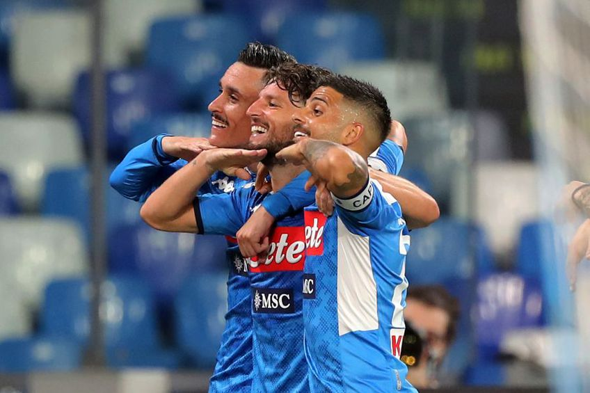 Napoli ocupă locul 6 în Serie A // foto: Guliver/gettyimages