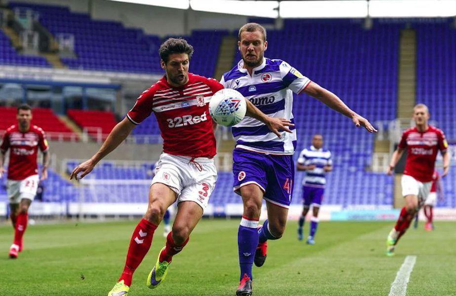 George Pușcaș în Reading - Middlesbrough 1-2 // foto: readingfc.co.uk