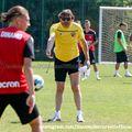Dario Bonetti a condus azi primul antrenament la Dinamo
