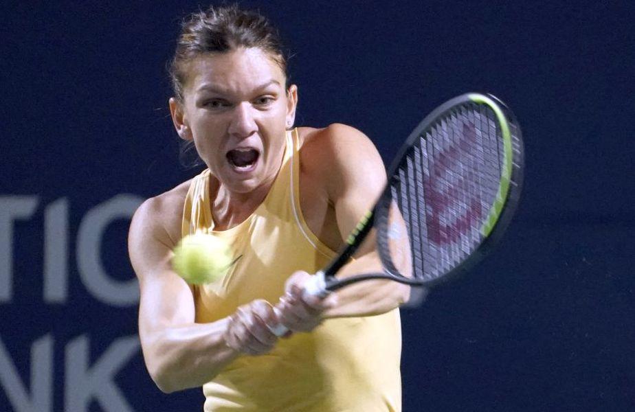 Simona Halep a jucat ultima oară în acest sezon la Dubai, turneu pe care l-a și câștigat FOTO Guliver/GettyImages