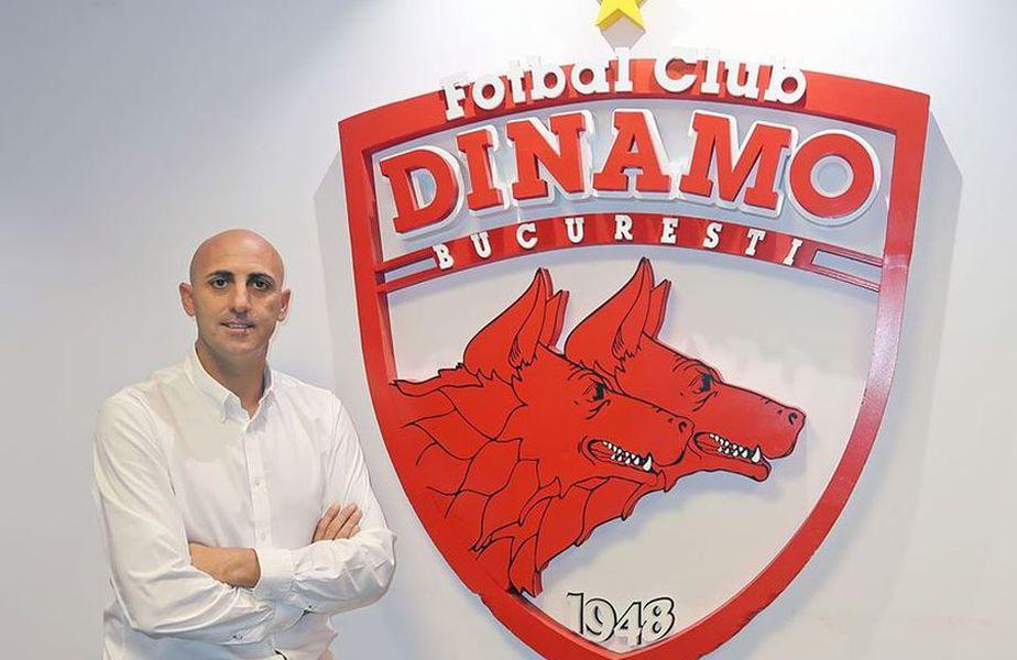 Rufo Collado este noul director sportiv de la Dinamo