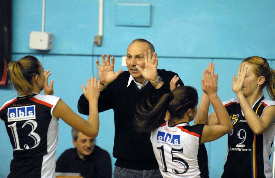 Dan Gîrleanu pe vremea când era antrenor la U Cluj FOTO sportpictures.eu