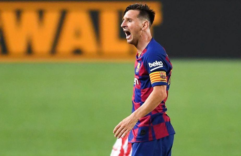 Leo Messi (33 de ani) a fost titular în primul meci amical disputat de Barcelona în această vară, 3-1 contra celor de Gimnastic. Argentinianul, în mijlocul unei veritabile telenovele în această vară, a răbufnit în timpul partidei la adresa unui adversar