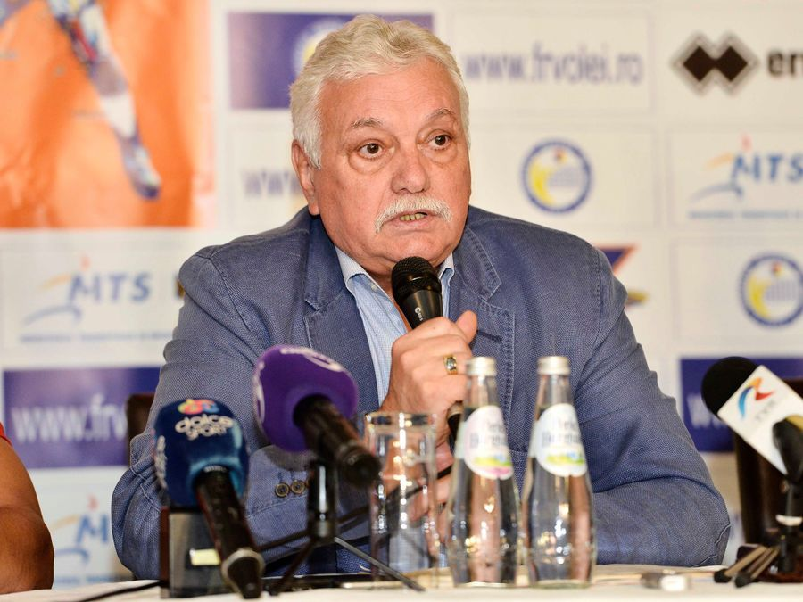 Președintele FR Volei, Gheorghe Vișan