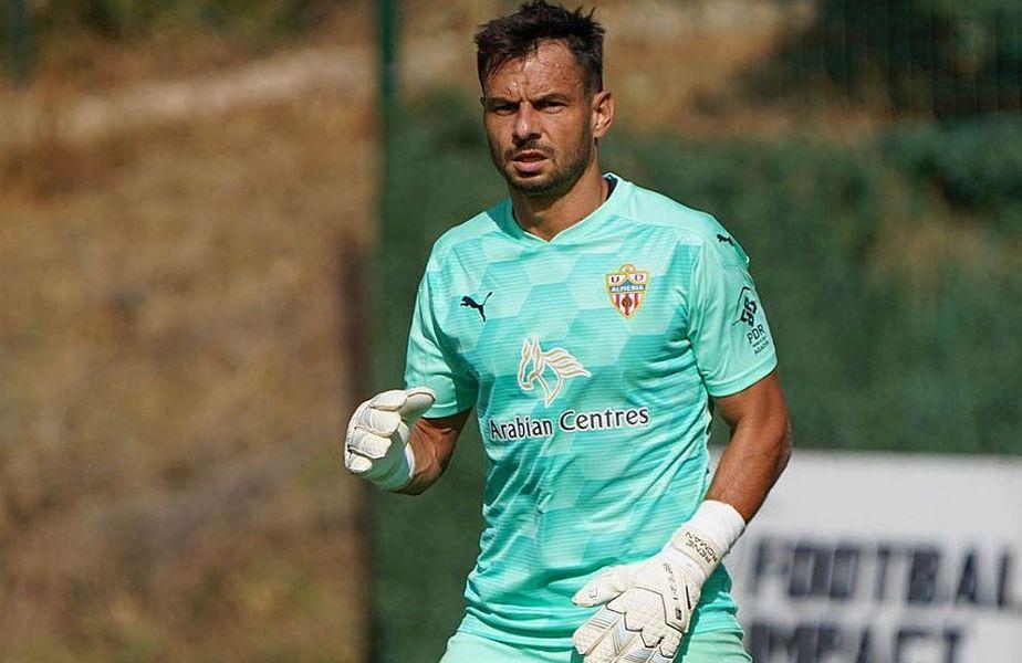 Portarul Rene Roman Hinojo, 36 de ani, a semnat cu Dinamo