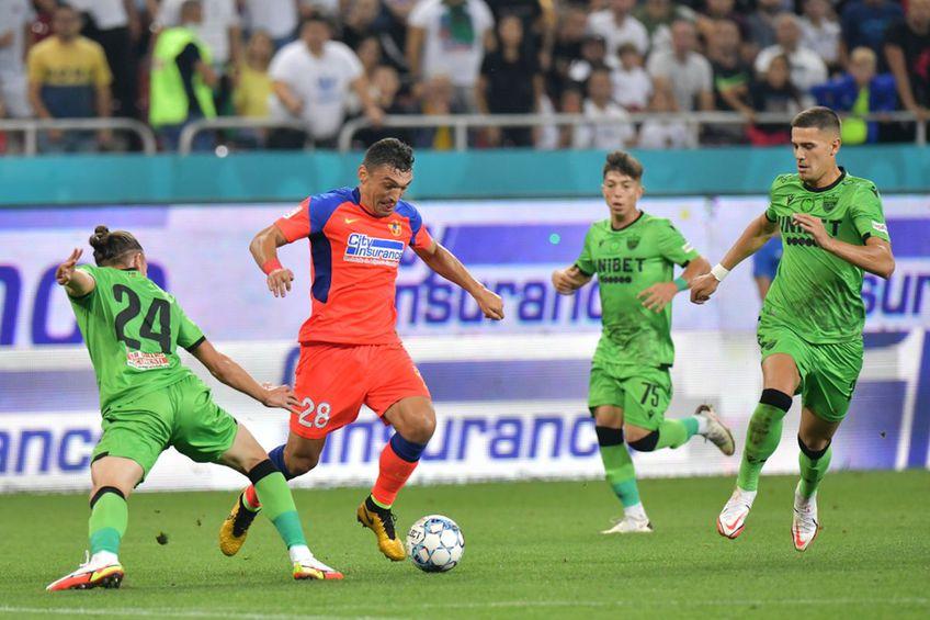 Deniz Giafer (#24), în FCSB - Dinamo 6-0 // foto: Cristi Preda - GSP