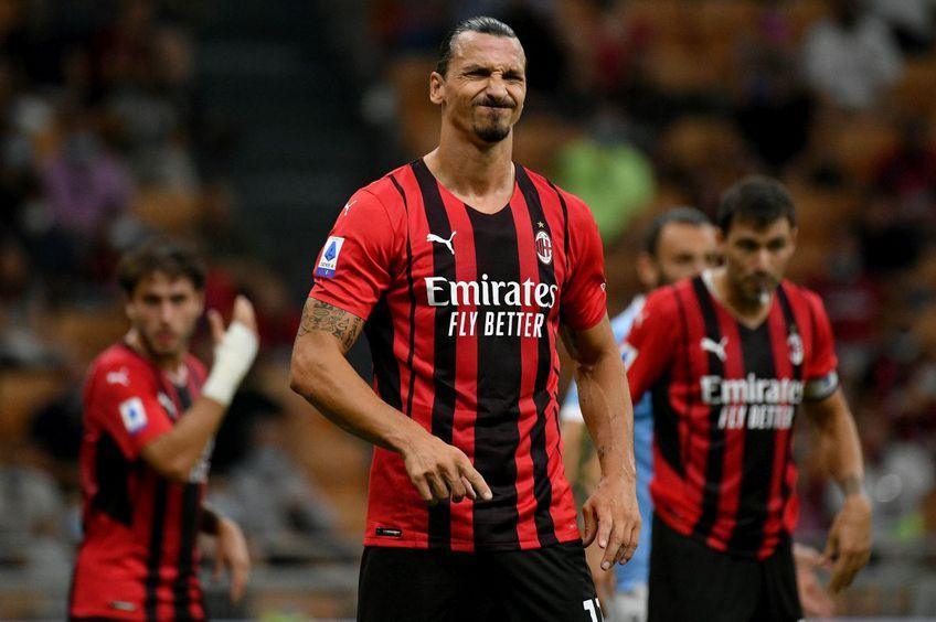 Zlatan Ibrahimovic, atacantul lui AC Milan, nu va fi disponibil pentru meciul cu Liverpool din prima etapă a grupelor Champions League.