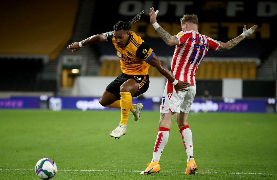 Adama Traore, fotbalistul celor de la Wolverhampton, este cel mai rapid fotbalist și în FIFA 21.