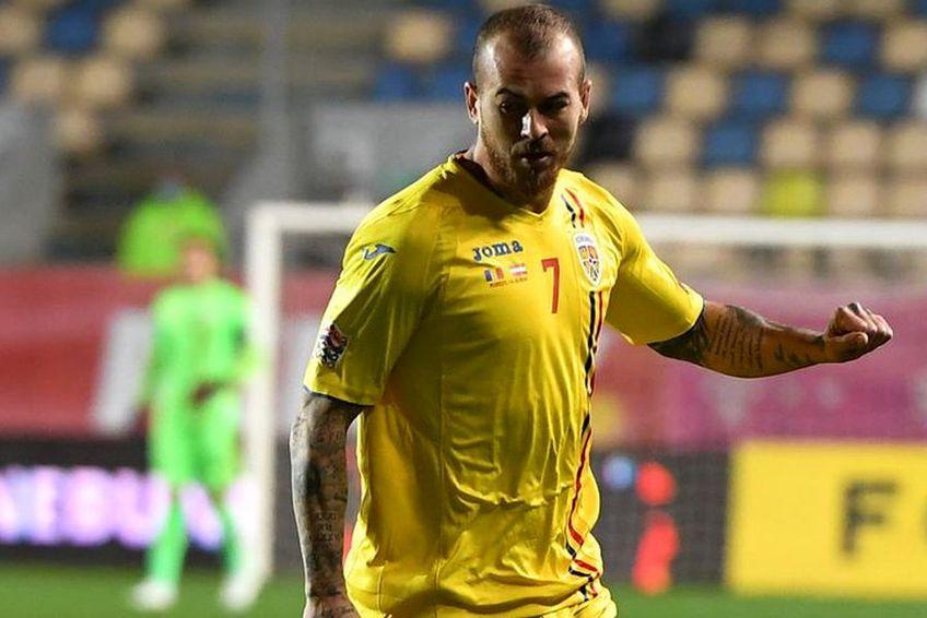 Denis Alibec (29 de ani, atacant) și-a găsit greu cuvintele după înfrângerea cu Austria, 0-1, din Liga Națiunilor.