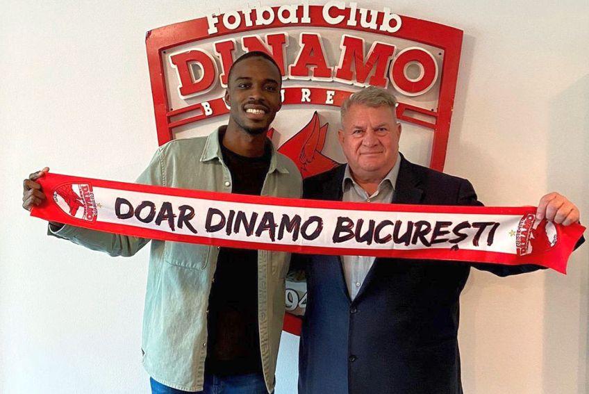 Michel Espinosa a semnat cu Dinamo / Sursă foto: Facebook@DinamoOfficial