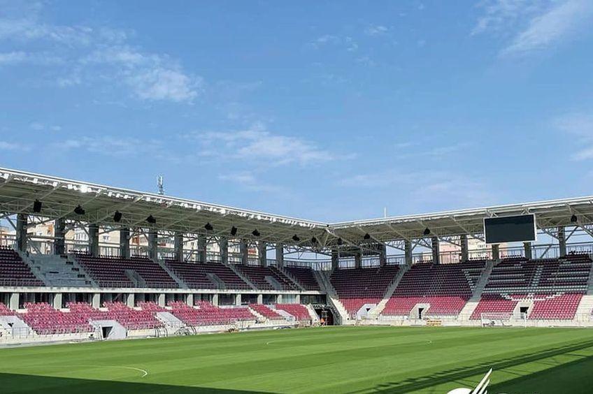 Noul stadion al Rapidului va fi inaugurat abia anul viitor / Sursă foto: CNI