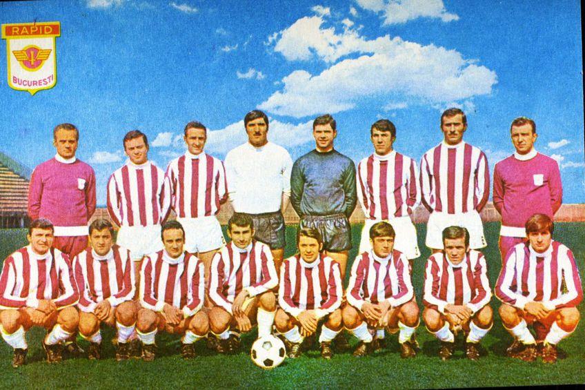 Lotul Rapidului din sezonul 1970/1971