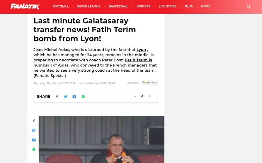 """Rămân Cicâldau și Moruțan fără protector? Fatih Terim, dorit de un club mare al Europei: """"Aduceți «Împăratul»"""""""