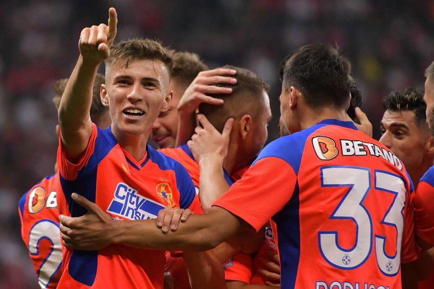 Octavian Popescu avea 17 ani și 9 luni la momentul în care a debutat la FCSB, în septembrie 2020