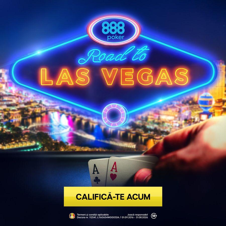 Poker online și show TV pentru a merge gratis la un turneu în Las Vegas