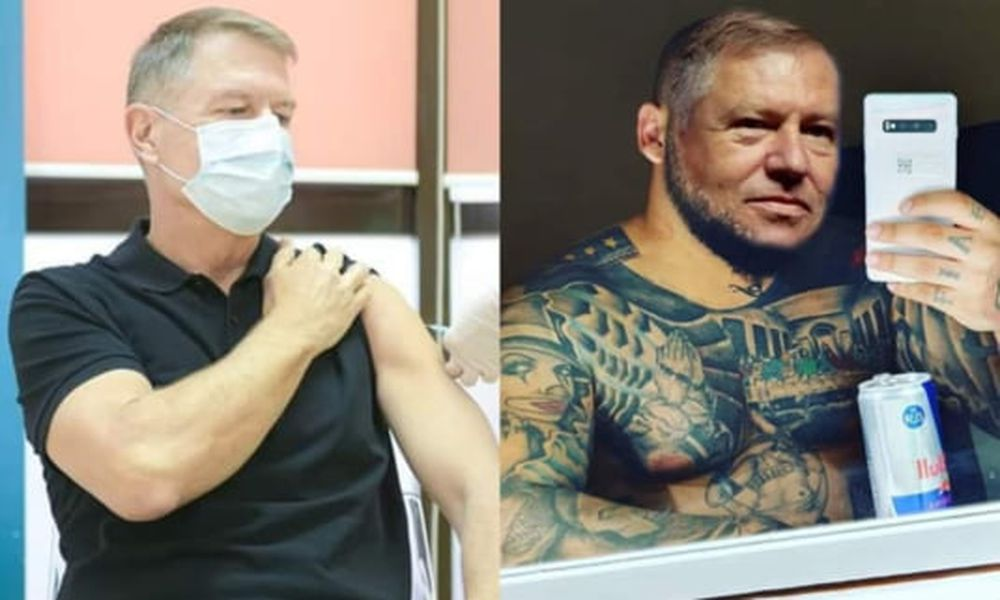 FOTO Glume pe net după ce președintele Klaus Iohannis s-a vaccinat împotriva coronavirusului