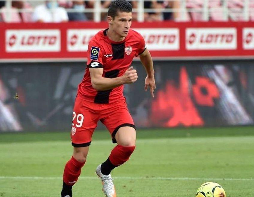 Alex Dobre (22 de ani), extrema stângă pe care Dijon (locul 18 în Ligue 1) a plătit un milion de euro lui Bournemouth, a explicat ce trebuie să faci ca să răzbești în fotbalul occidental.
