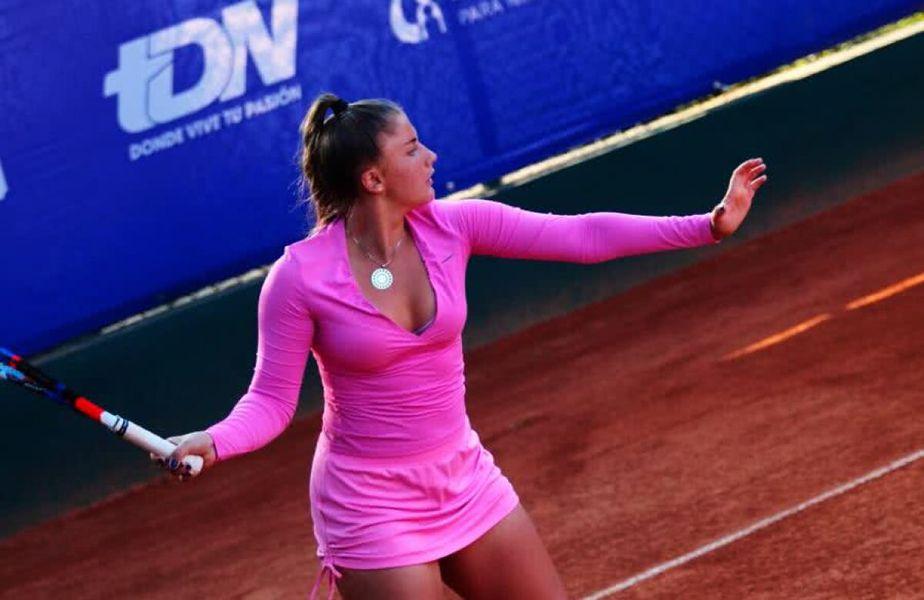 Andreea Prisăcariu (20 de ani, 673 WTA) a primit mesaje îngrozitoare, după meciul pierdut astăzi, scor, 2-6, 6-3, 3-6, în fața slovenei Pia Lovric (19 ani, 841 WTA).