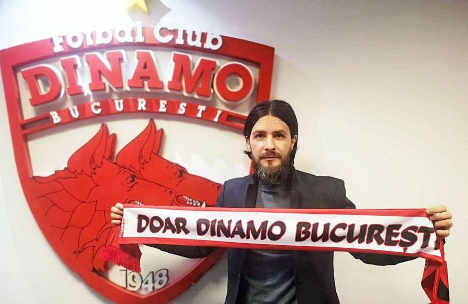 Dinamo a anunțat astăzi că are un nou manager sportiv, în persoana lui Marius Adrian Nicolae.