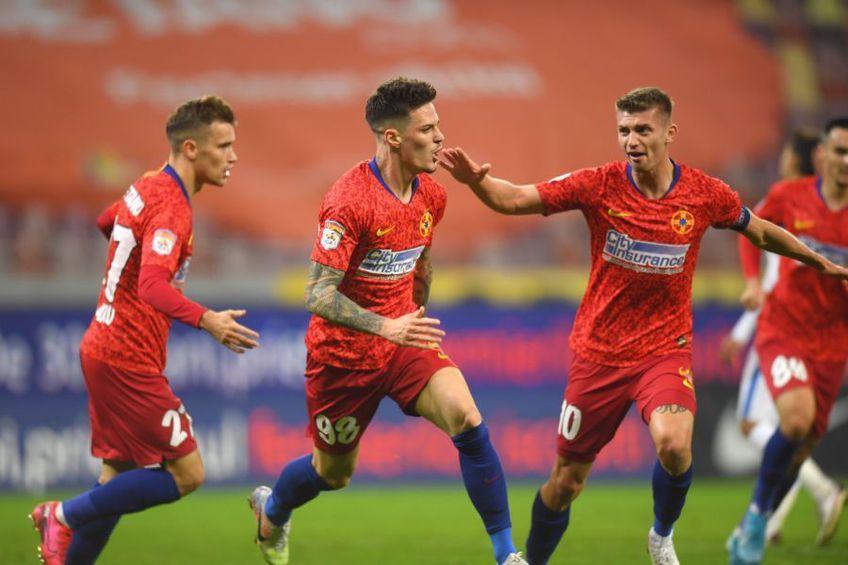 FCSB a învins-o pe Astra, scor 3-0, în ultimul meci al rundei #16 din Liga 1.