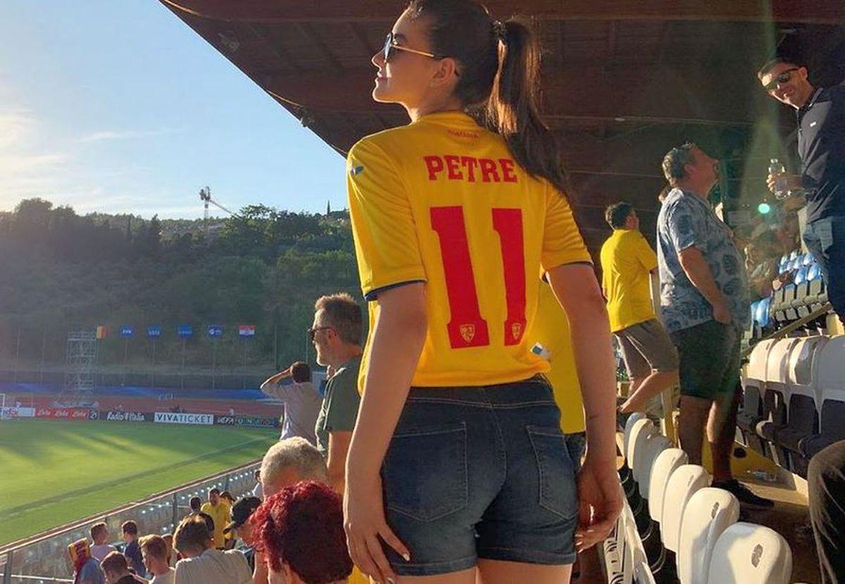 FCSB // FOTO Iubita lui Adi Petre, noua senzație de la FCSB! Superba brunetă este un model de succes