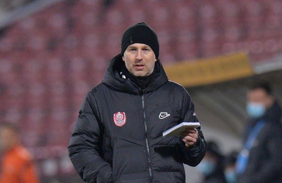 """CFR Cluj și FC Voluntari au remizat, scor 0-0, în runda cu numărul 23 din Liga 1. Edi Iordănescu, 42 de ani, tehnicianul """"feroviarilor"""", a oferit declarații la final."""