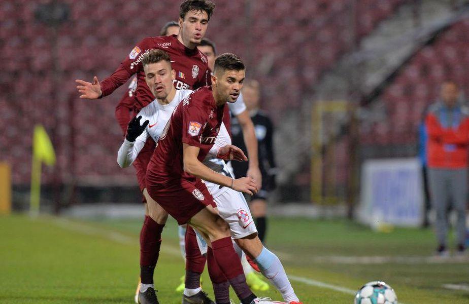 FCSB și CFR Cluj sunt primele clasate din Liga 1