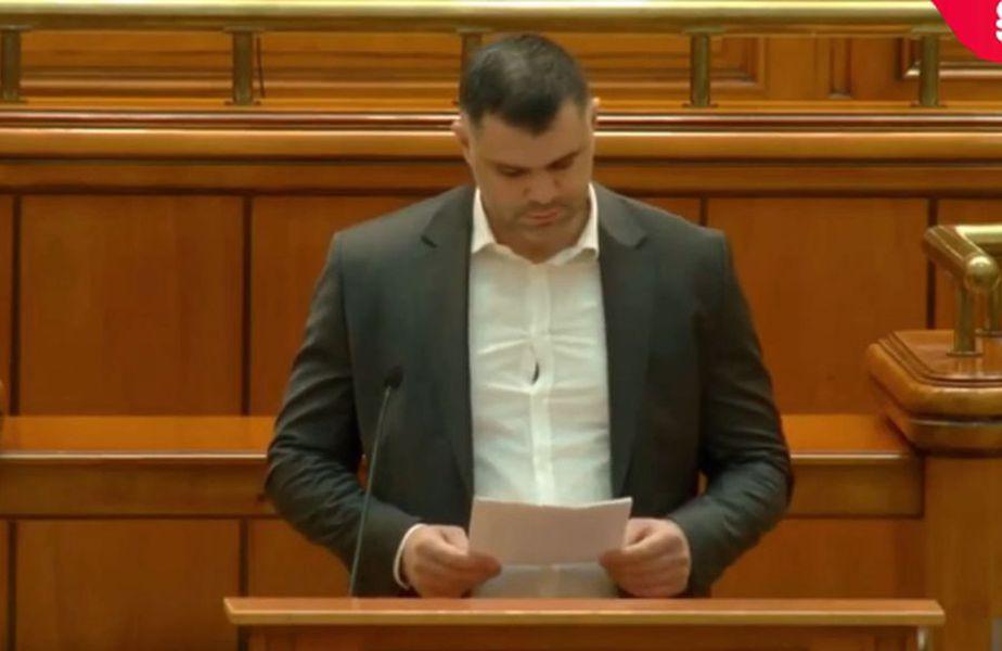 Daniel Ghiță, în plenul Camerei Deputaților