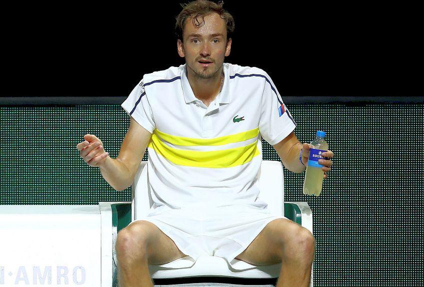Daniil Medvedev, noul număr 2 ATP // FOTO: Guliver/GettyImages