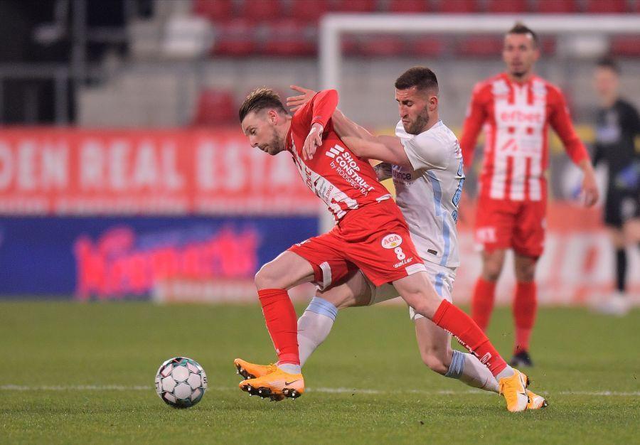 Ovidiu Popescu e cel mai folosit jucător de la FCSB în acest sezon