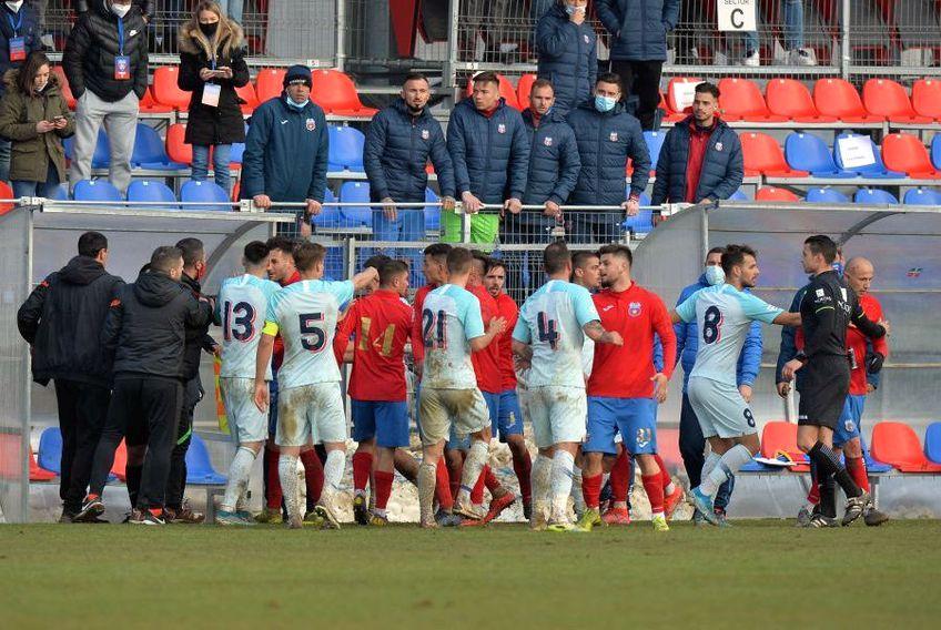 CSA Steaua și FCSB 2 au remizat, 1-1, în Liga 3// FOTO: Cristi Preda