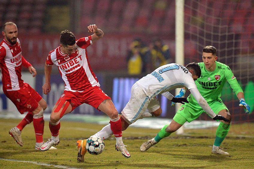 Eșanu e titular incontestabil la Dinamo