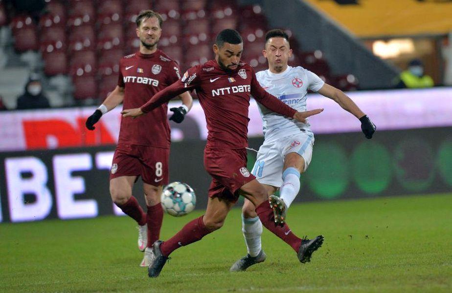 FCSB și CFR Cluj se vor duela vineri pentru locul 1