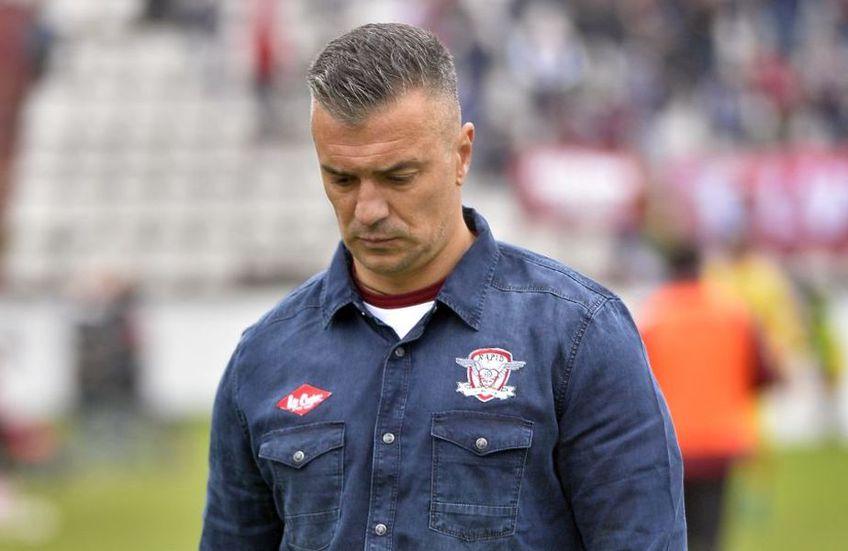 Daniel Pancu a antrenat-o pe Rapid între octombrie 2018 și martie 2020