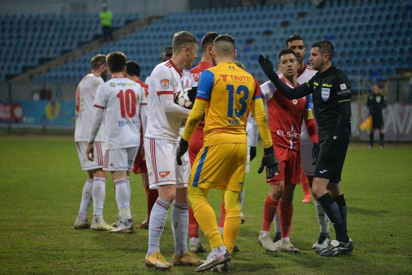 FC Botoșani a cerut o lovitură de pedeapsă în minutul 75 al înfruntării cu Sepsi, la scorul de 2-0 pentru covăsneni. Partida s-a încheiat 1-2.