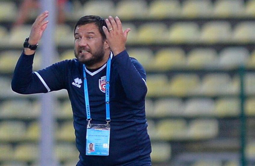 """Marius Croitoru (40 de ani) """"a tunat"""" la finalul eșecului suferit de FC Botoșani cu Sepsi, scor 1-2."""