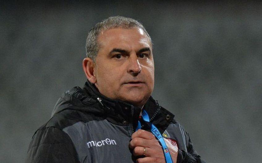 Jerry Gane (49 de ani), antrenorul lui Dinamo, și-a anunțat plecarea după eșecul cu FC Argeș, 1-2.