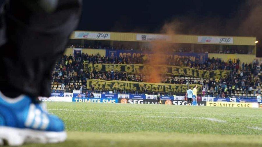 Suporterii lui FC Brașov, care au înființat SR-ul, în 2017