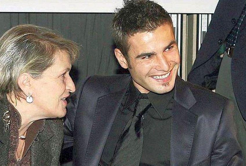 Adrian Mutu și mama lui, Rodica