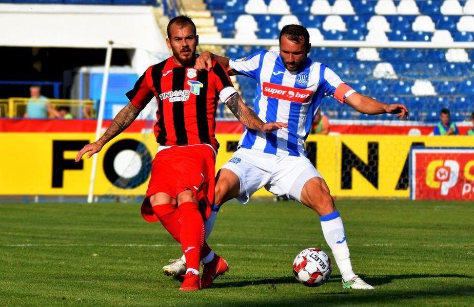 Cosmin Frăsinescu în duel cu Denis Alibec