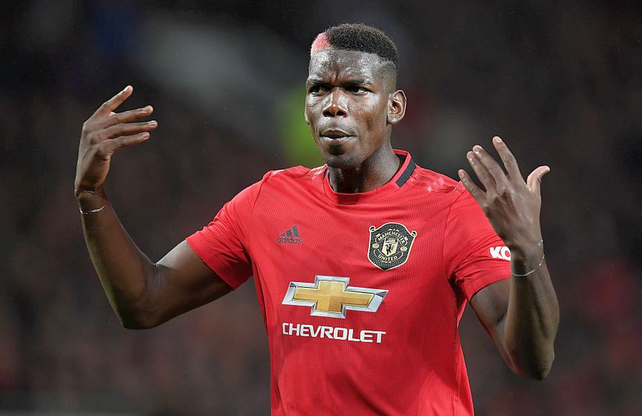 Paul Pogba, vedeta lui Manchester United // FOTO: Guliver/GettyImages