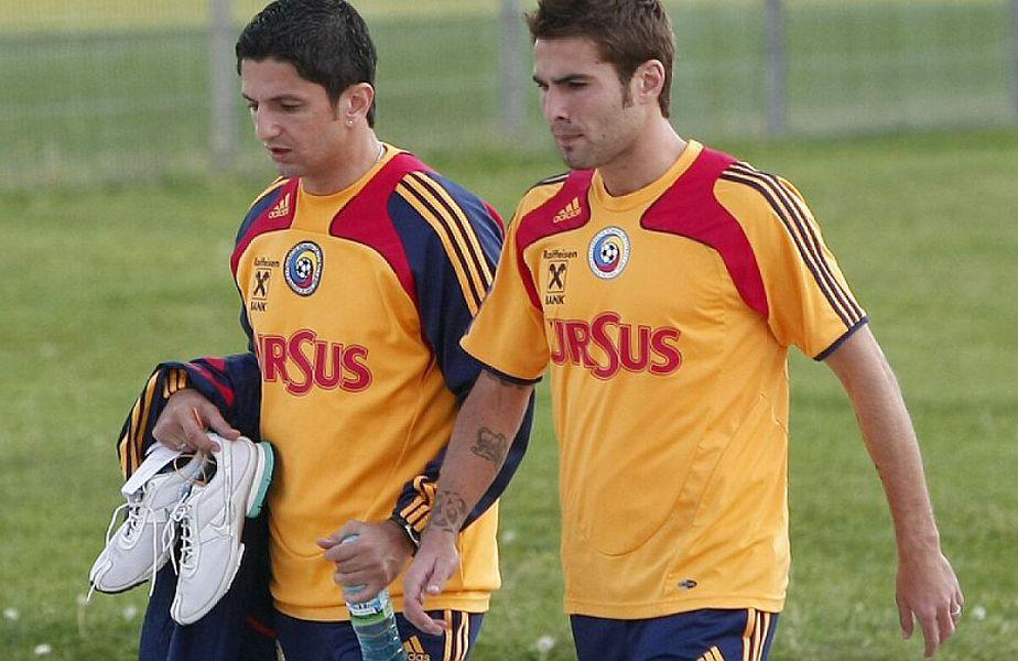 Adrian Mutu și Răzvan Lucescu au colaborat la echipa națională