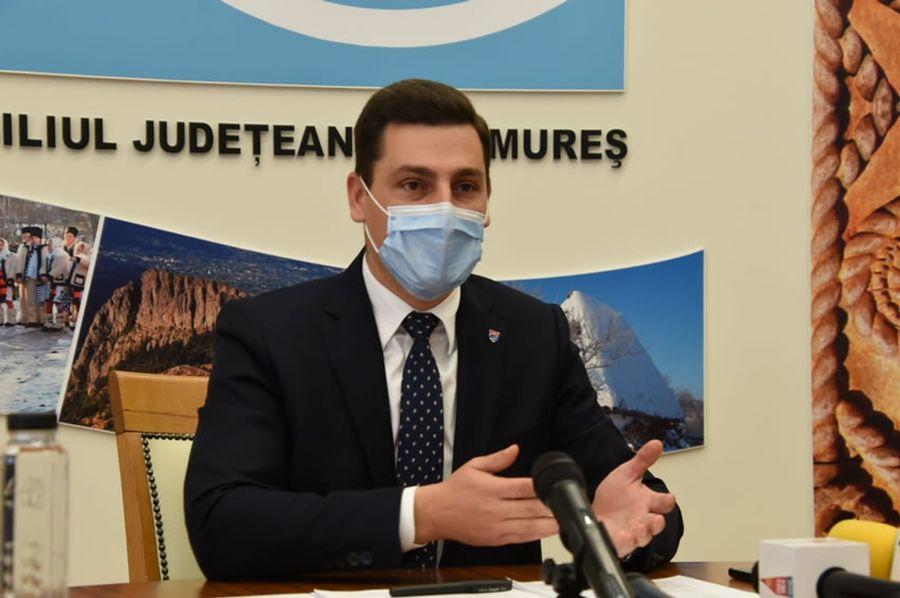 Ionel Bogdan, președinte CJ Maramureș / FOTO: cjmaramures.ro