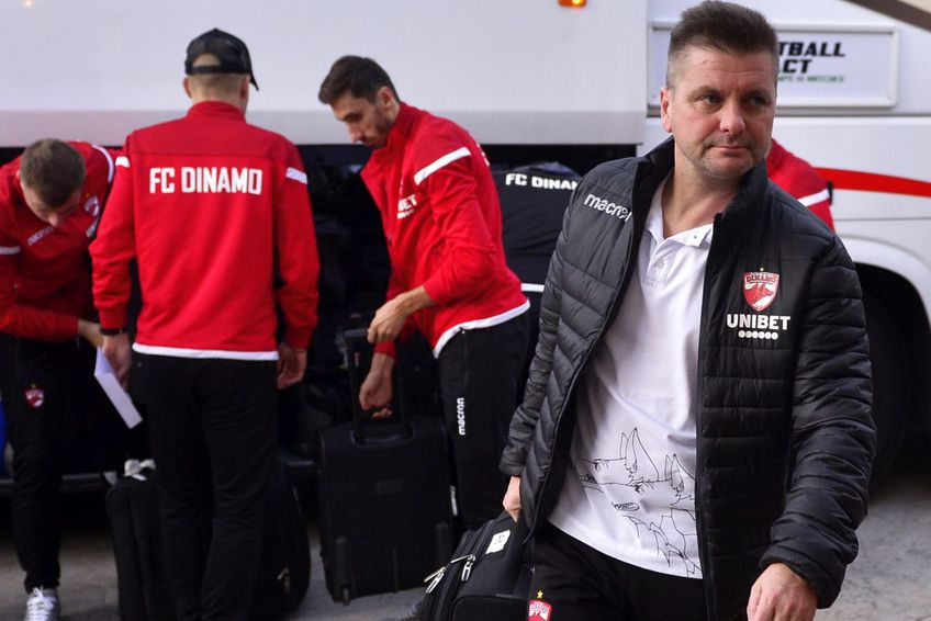 Dusan Uhrin are misiunea de a o salva pe Dinamo de la retrogradare. Sursă foto: Arhivă Gazeta Sporturilor