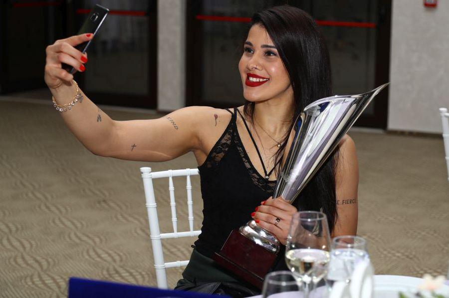 Samara da Silva a primit în România titlul de cea mai bună apărătoare în 2019