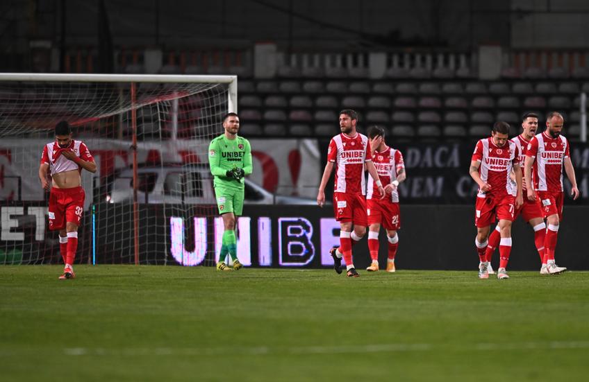"""Dinamoviștii se mobilizează înainte de play-out: """"Avem probleme la finalizare! Trebuie să schimbăm ceva și să luăm cel puțin 6 puncte în primele 3 meciuri"""""""