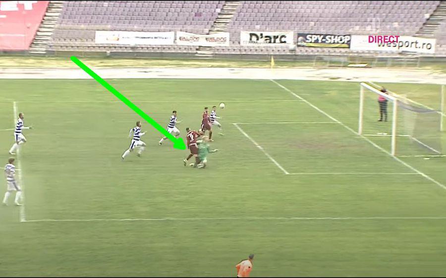 Rapid a întors senzațional meciul cu ASU Poli și face un pas uriaș spre Liga 1! Penalty ciudat în minutul 86